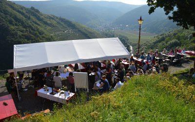 Bergmesse auf der Saffenburg