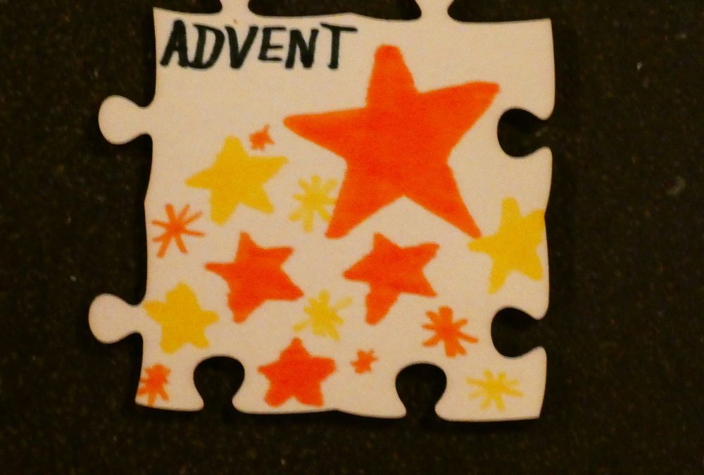 Puzzleaktion Advent 2018 – Ein Kreuz