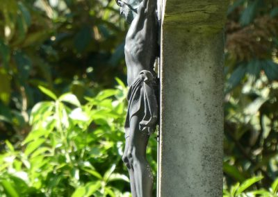 Kreuz am Kinderfriedhof