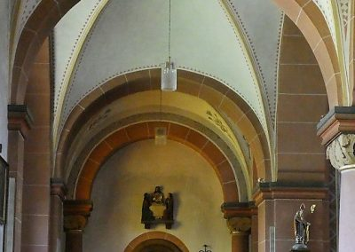 Seitenschiff links - Sakristei