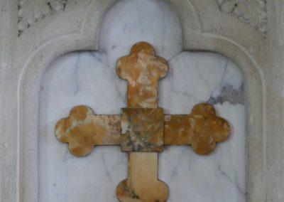 Vorderseite des Altars